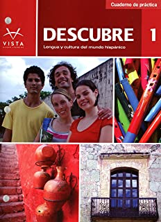 Descubre 1 student edition w supersite code and vtext 2014 descubre 2014 level 1 cuaderno de practica workbook fandeluxe Images