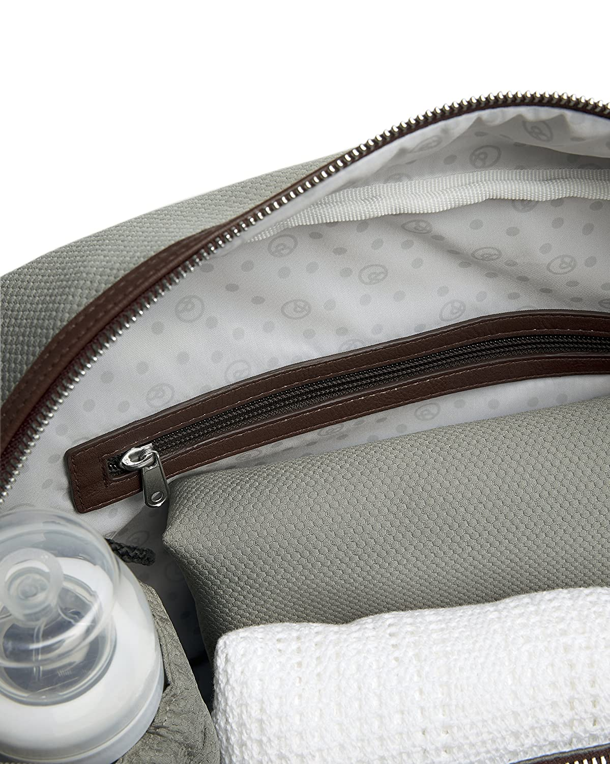 Baby Changing Bag Mamas /& Papas Bowling Changing Bag Nappy Changing Bag Chestnut Pram//Pushchair//Buggy Accessories