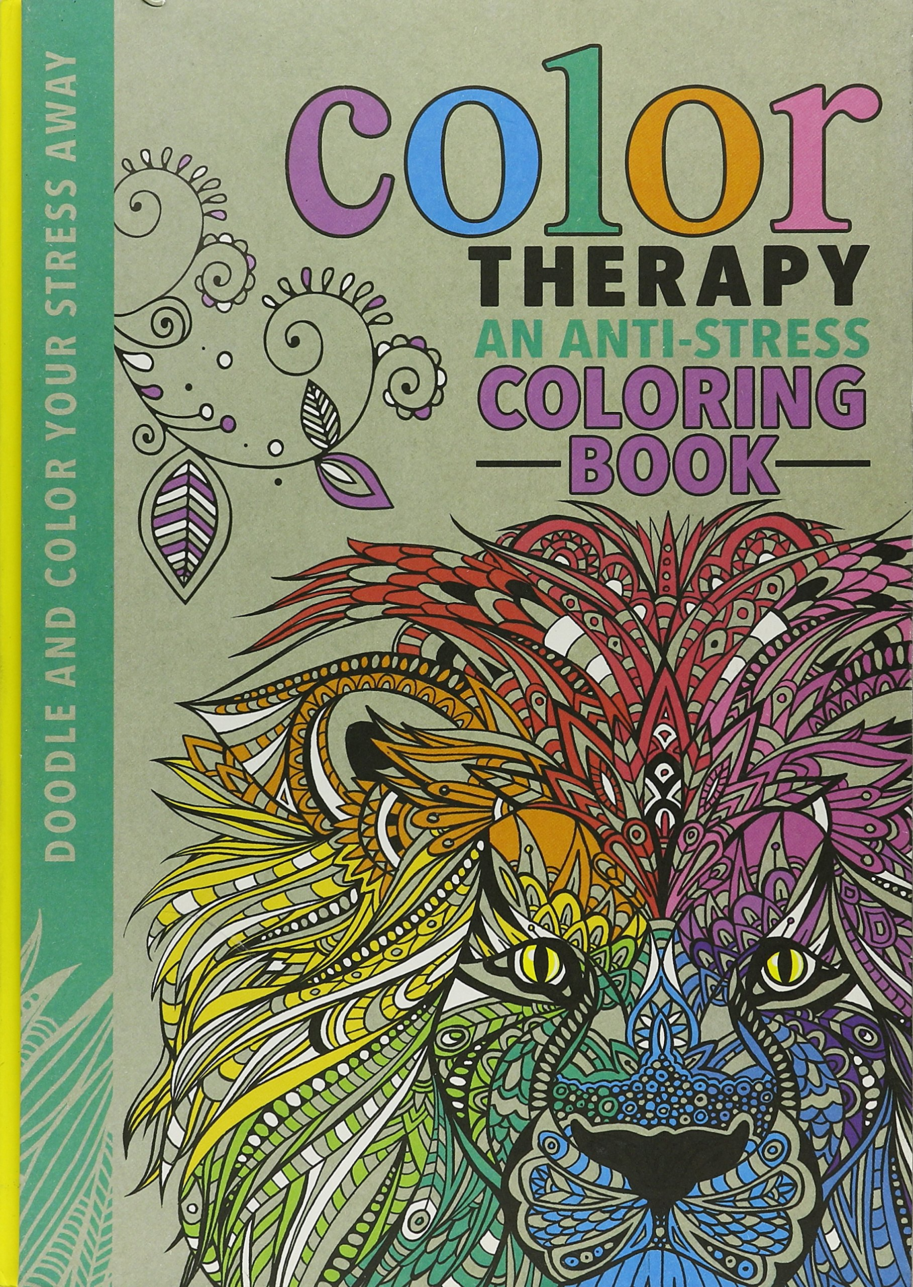 - Amazon.com: Color Therapy: An Anti-Stress Coloring Book: Wilde