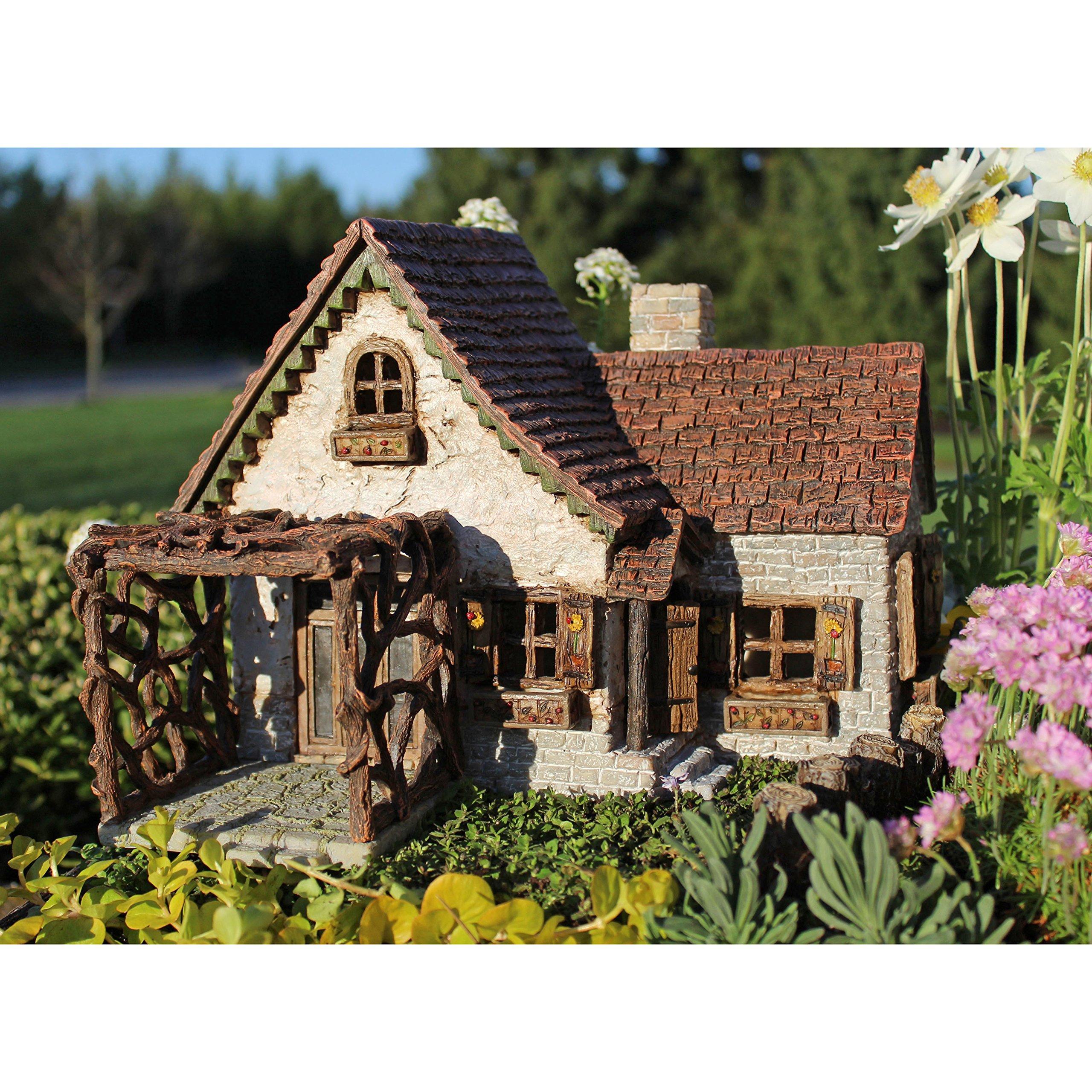Miniature Fairy Garden Ladybug House