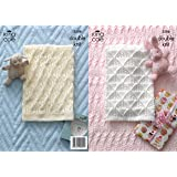 Comfort DK Baby Blankets Pattern 3506 by King Cole - King Cole Patterns