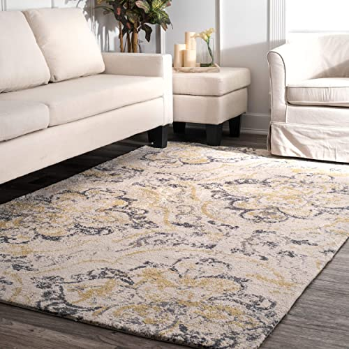 nuLOOM Cortney Floral Area Rug