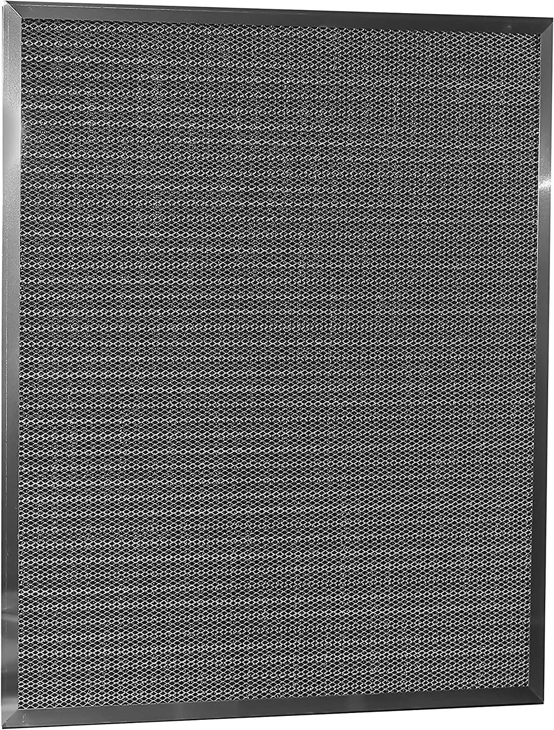 (24x30x1) Aluminum Electrostatic Air Filter Replacement Washable Air Purifier A/C Filter for Central HVAC – Improve airflow & Furnace longevity by LifeSupplyUSA
