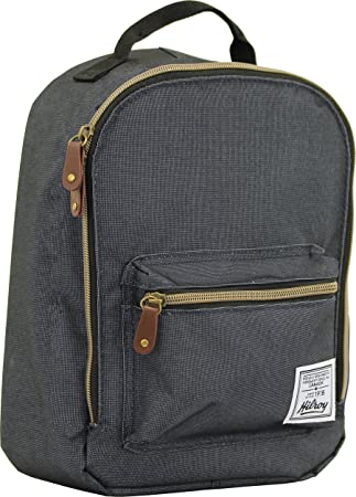 7da305e4cd7737 Hilroy Heritage Bowie Lunch Bag, Insulated, 5-1/2 x 9 x 10-1/2 Inches,  Black (89532): Amazon.ca: Office Products