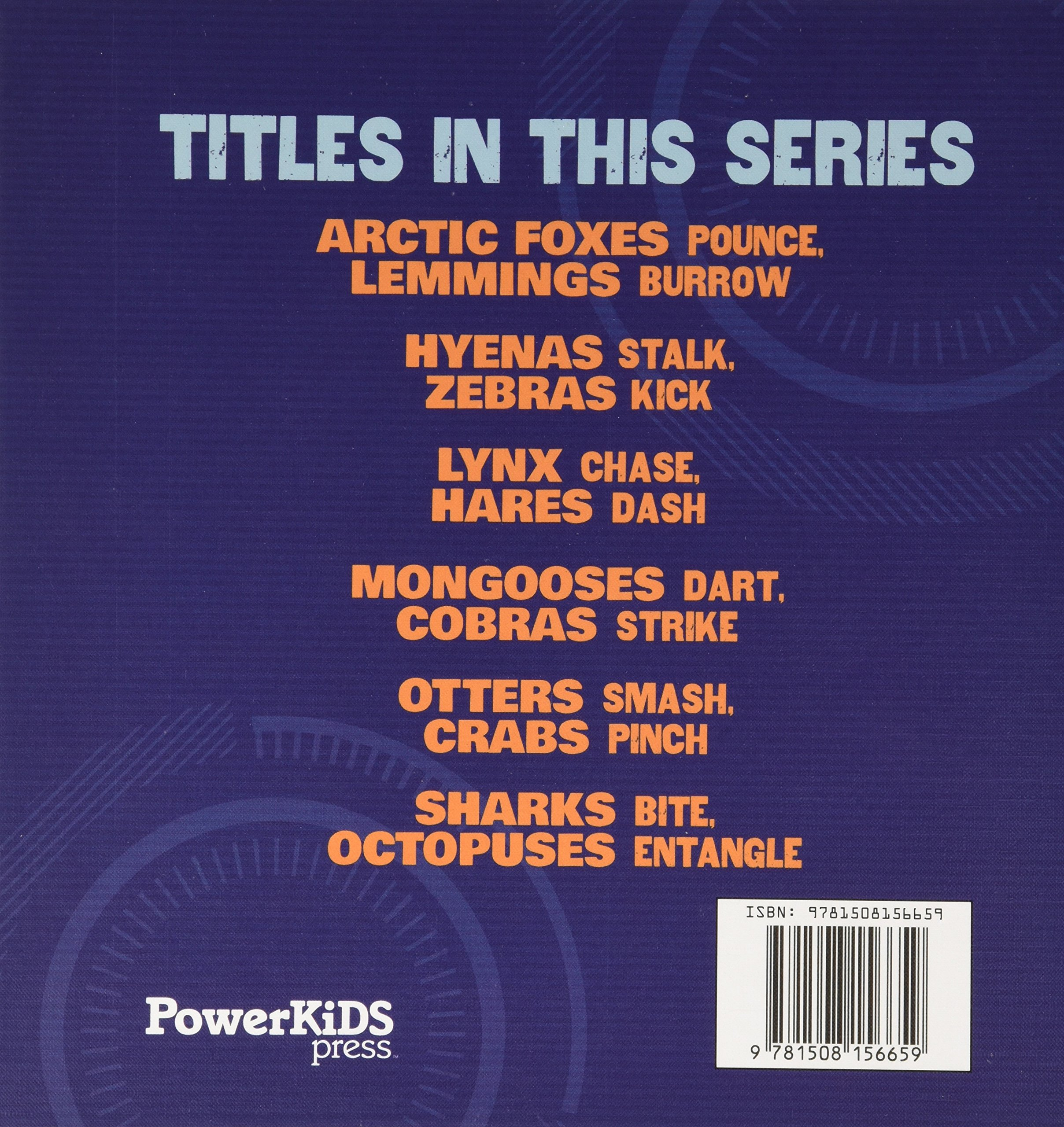 Hunter and Hunted - Animal Survival by Powerkids Pr (Image #1)