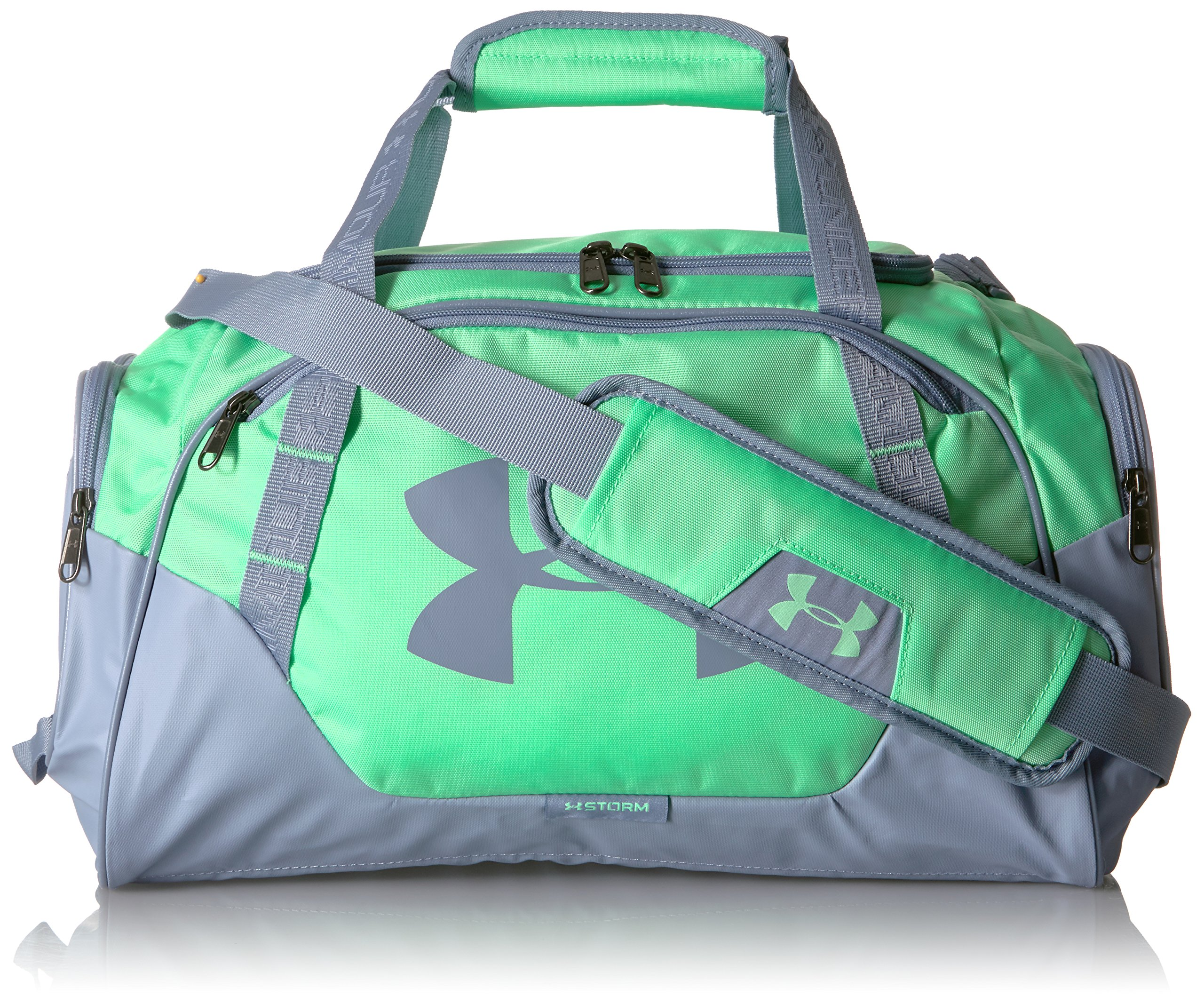 d64e88fe4e1 Galleon - Under Armour Undeniable Duffle 3.0 Gym Bag, Green Typhoon  (375)/Washed Blue,