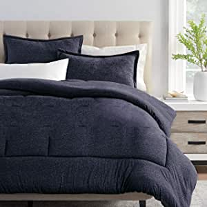 Columbia Cooling Soft Comfort 3 Piece Bedding Set | Value Bundle Includes 1 Comforter & 2 Standard Pillow Shams | Temperature Regulating | Omni-Wick, Moisture Wicking Technology | Full/Queen - Blue