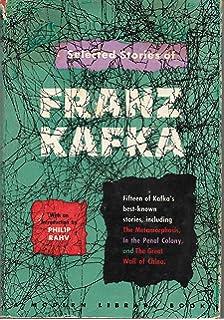 Amazon Com Selected Short Stories Of Franz Kafka Modern Library
