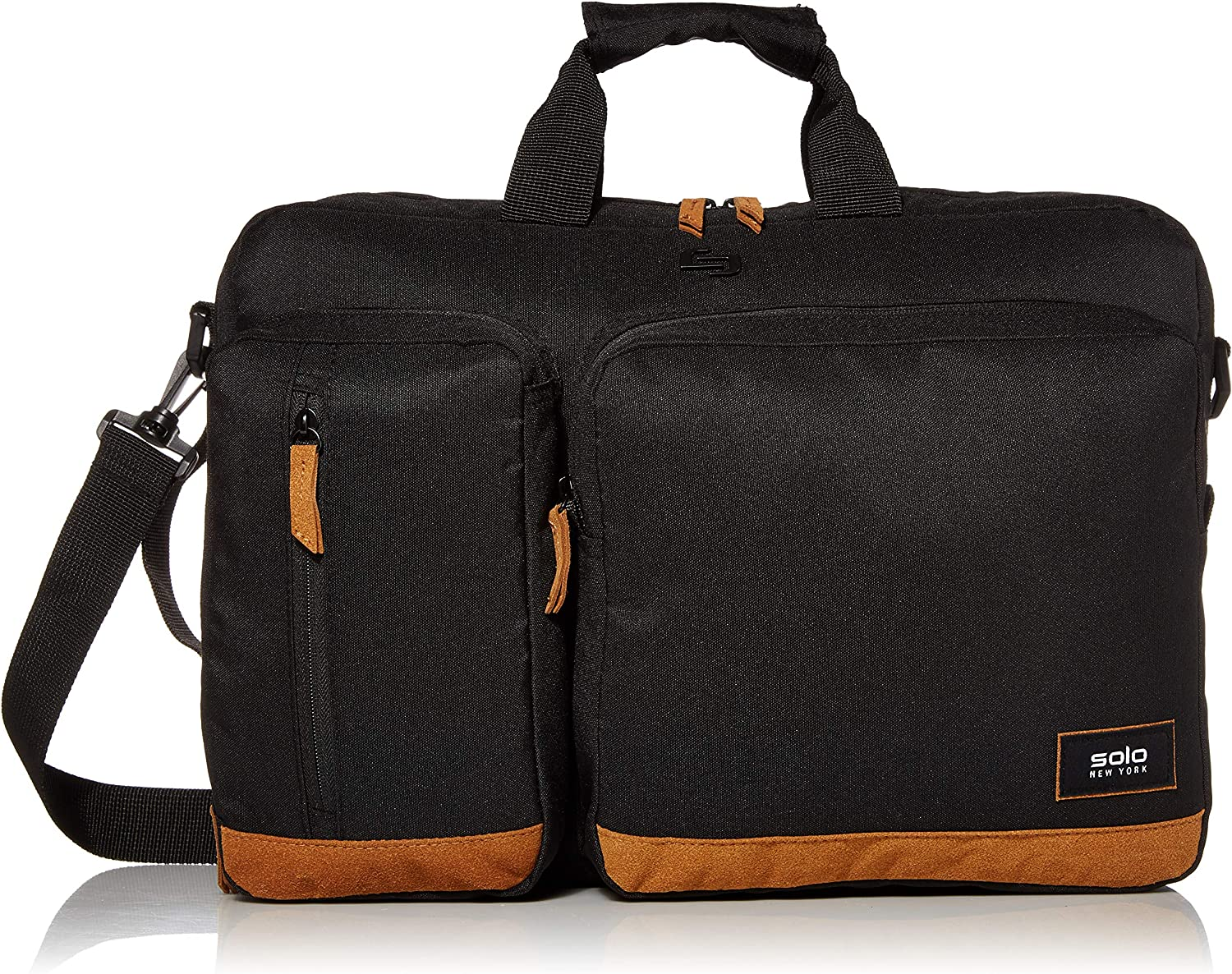 Solo New York Duane Hybrid Briefcase 15.6""