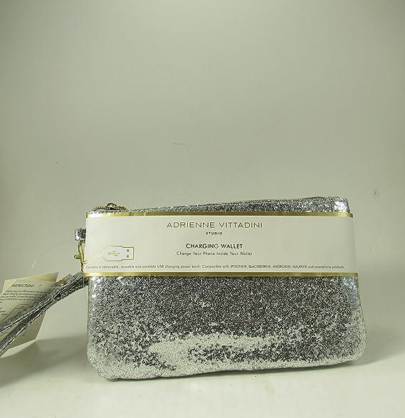 Adrienne Vittadini carga Wristlet Wallet Marfil iPhone Android Billetera: Amazon.es: Ropa y accesorios