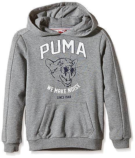 Puma Sweatshirt Style ATHL Hooded Sweat B - Sudadera para niños: Amazon.es: Deportes y aire libre