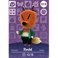 Nintendo Animal Crossing Happy Home Designer Amiibo Card Redd 315/400 USA Version