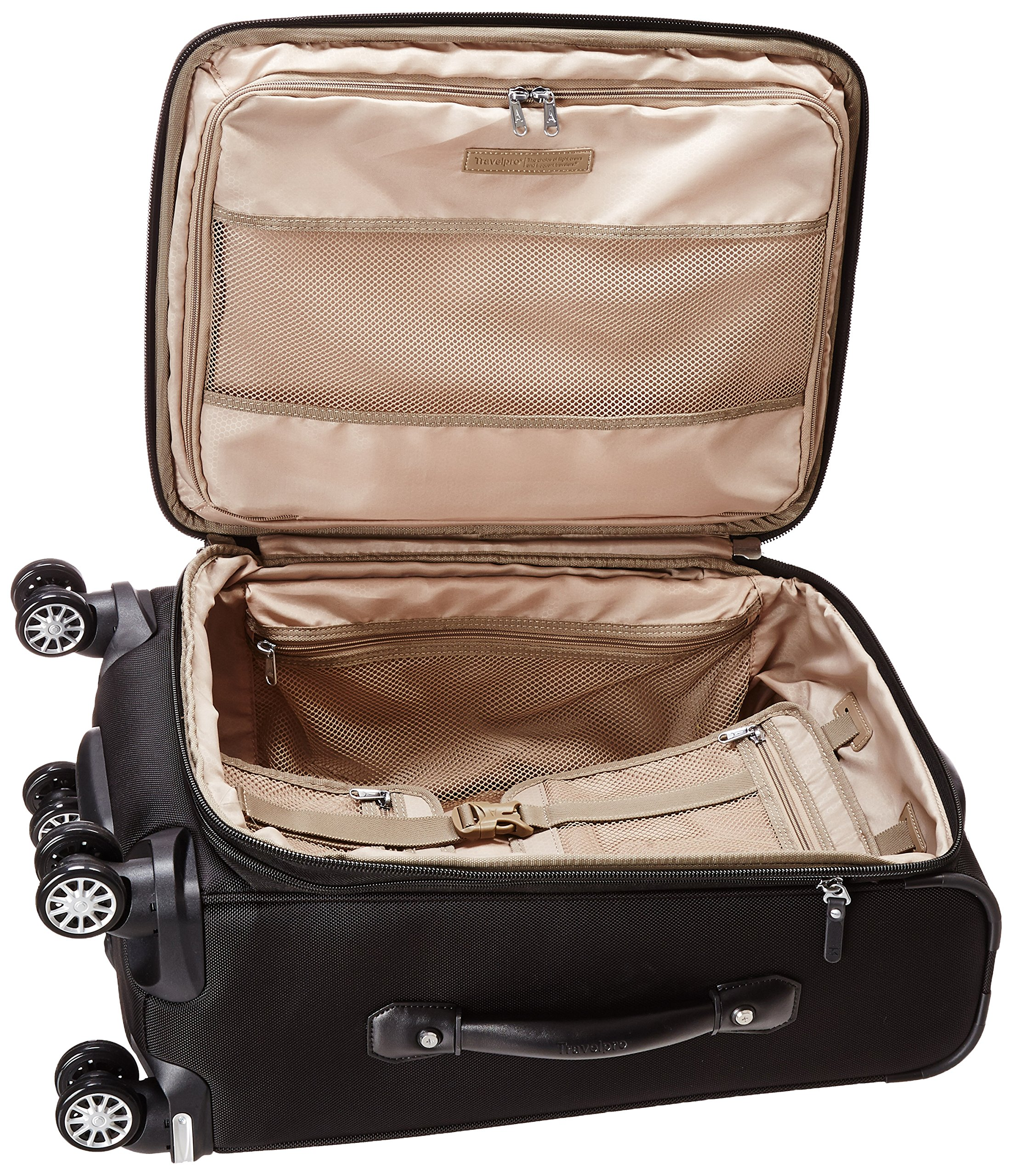 "Travelpro Platinum Magna 2  20"" Expandable Business Plus Spinner, Black by Travelpro (Image #5)"
