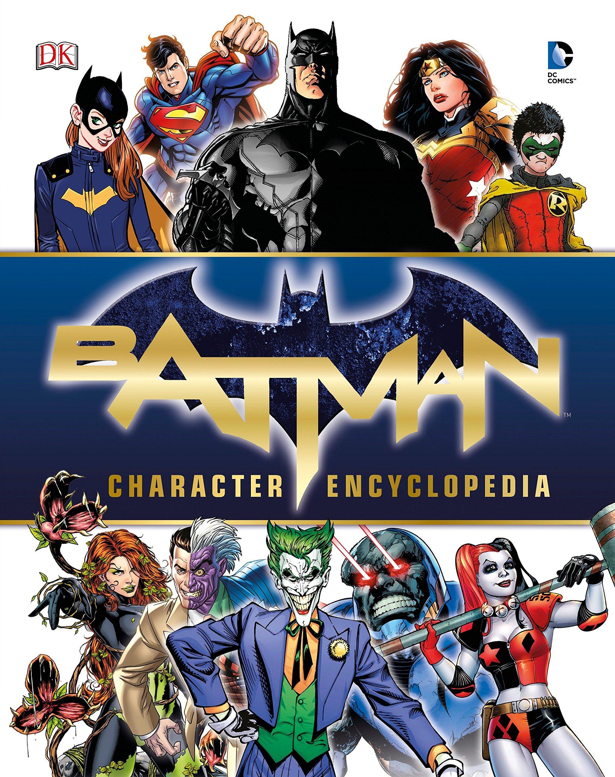 Batman Character Encyclopedia ebook