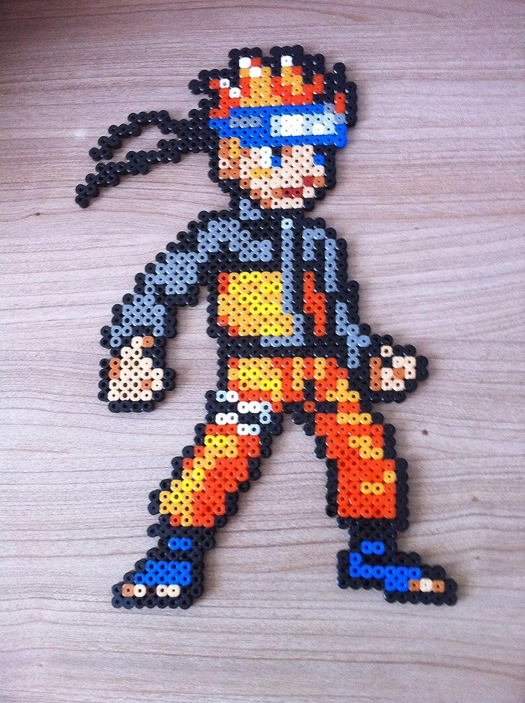 Pixel Art , Hama Beads , Naruto personnage Amazon.fr Handmade