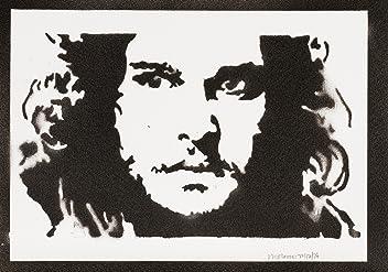 Jon Snow Game Of Thrones Handmade Sreet Art - Artwork - Poster