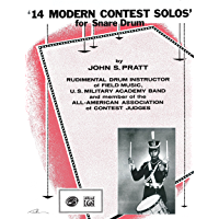 14 Modern Contest Solos: For Snare Drum book cover