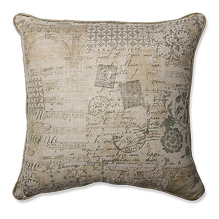 Pillow Perfect Documented Vermeil Throw Pillow, 18