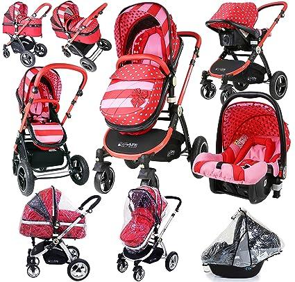 Carrito de bebé, lujoso, con sistema i-Safe 3 en 1, completo ...