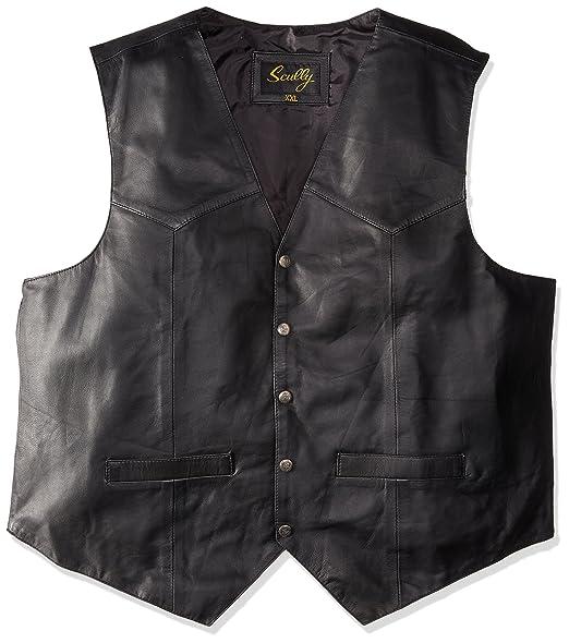Amazon.com: Scully - Chaleco de piel para hombre: Clothing