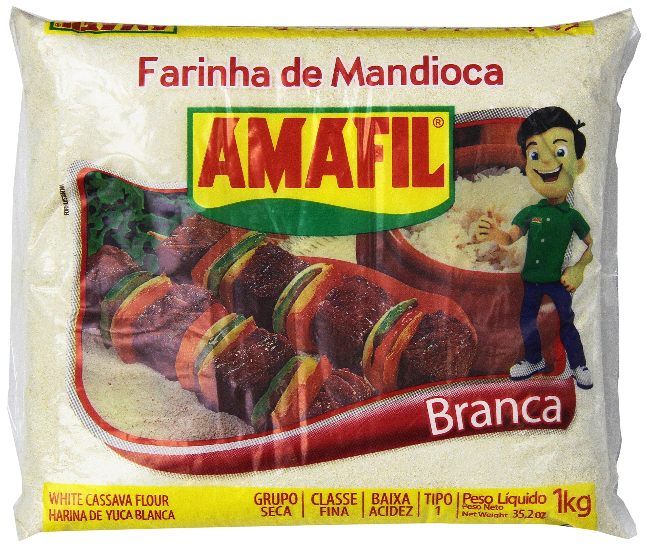 Amafil - Farinha de Mandioca Branca | White Cassava Flour - Harina De Yuca Blanca |
