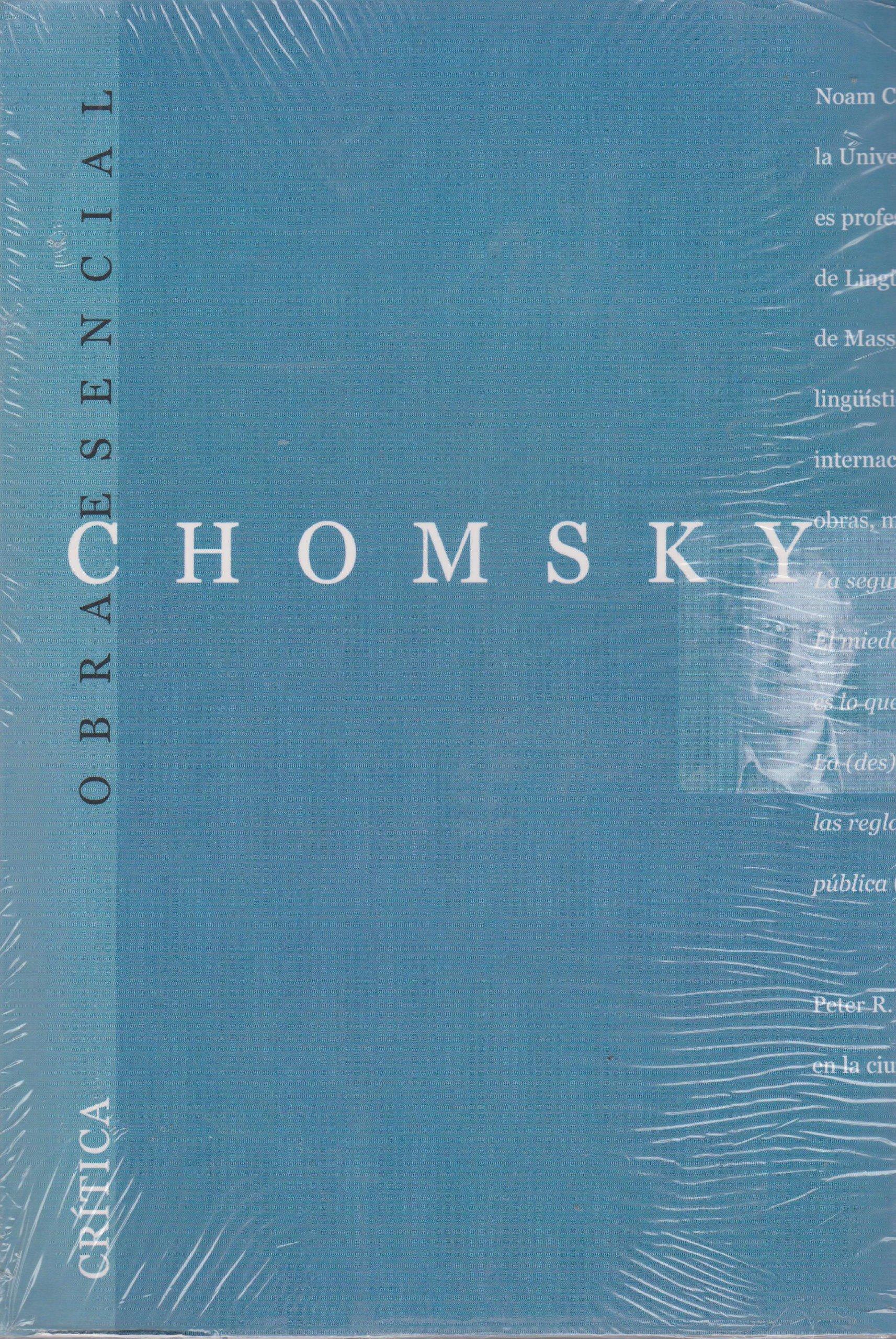 Chomsky esencial (Obra Esencial): Amazon.es: Chomsky, Noam, Mitchell, Peter, Schoeffel, John: Libros