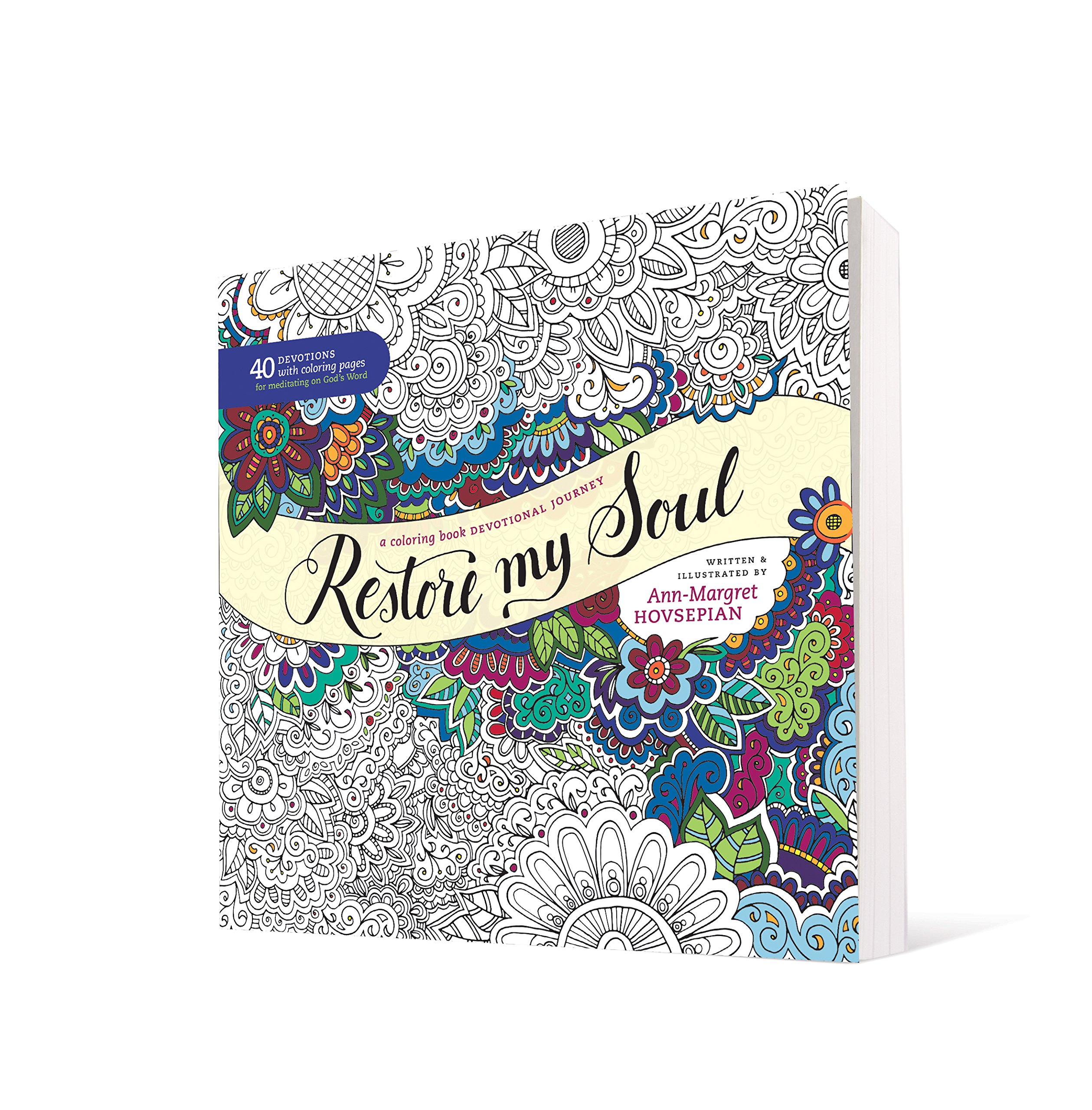 Amazon restore my soul a coloring book devotional journey amazon restore my soul a coloring book devotional journey 9781496414069 ann margret hovsepian books fandeluxe Choice Image