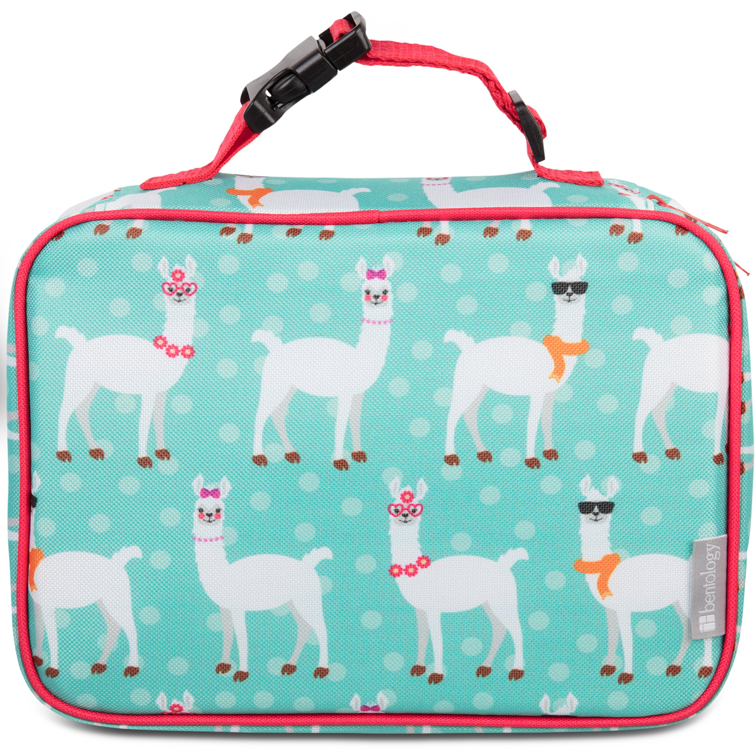 Insulated Lunch Box Sleeve - Securely Cover Your Bento Box (Llama)