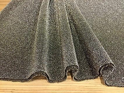 Sparkling Glitter Rouge Jersey Stretch Lurex Tissu Matériau
