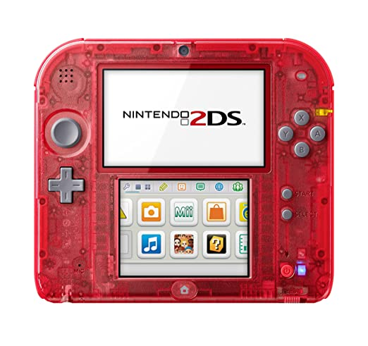 Console Nintendo 2Ds - transparente rouge [Importación ...