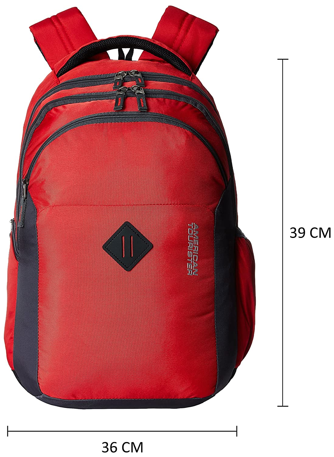aa097966e84f American Tourister 27 Ltrs Red Laptop Bag (Comet 01)  Amazon.in  Bags