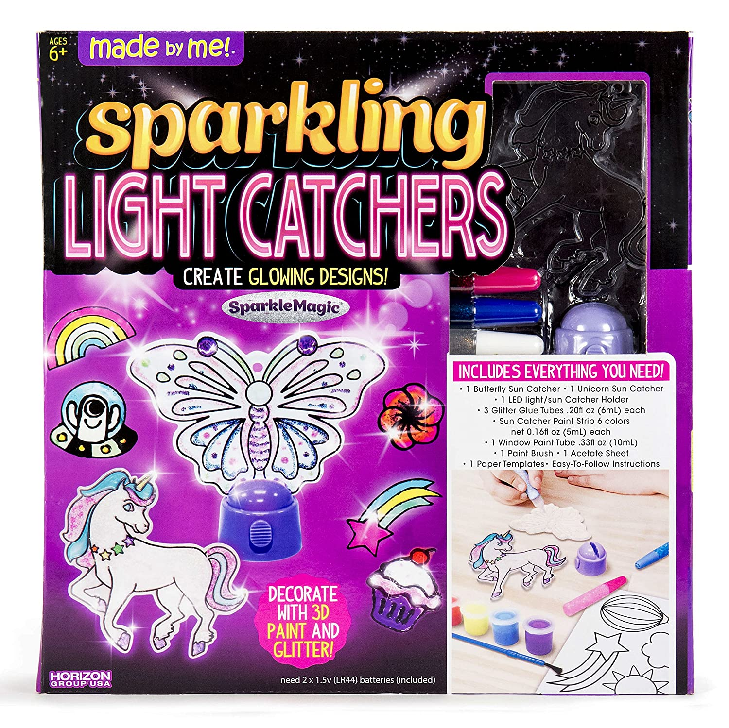Made By Me Sparkling Light Catchers by Horizon Group USA Light Catcher