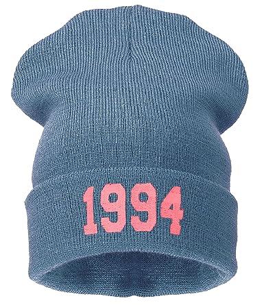 4sold (TM - mal pelo día Beanie Sombreros y más rosa 1994 gray pink M L   Amazon.es  Ropa y accesorios 51f48be38bb