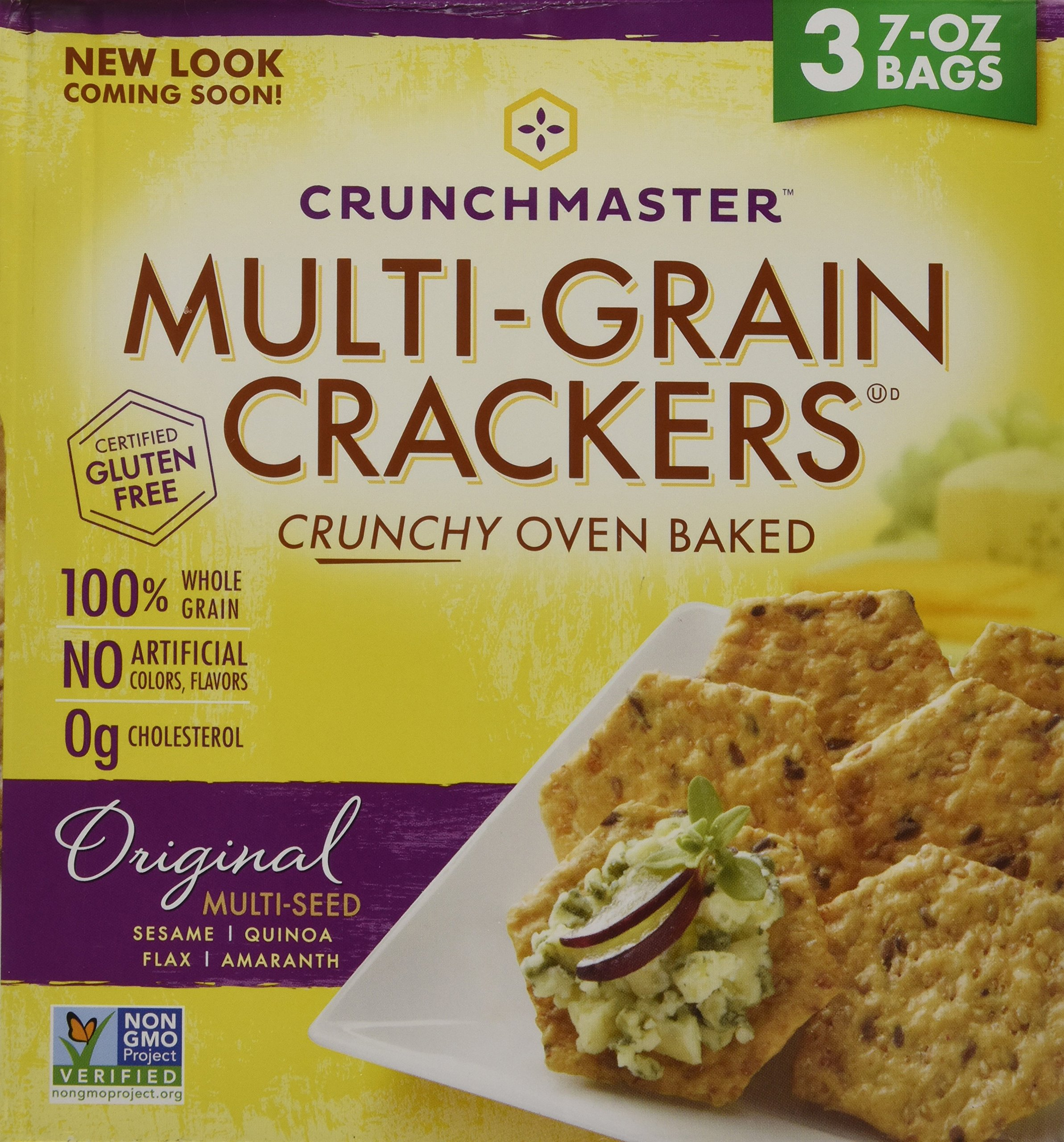 Crunchmaster Multi-Grain Crackers, 3 pk./7 oz. ( 1 BOX ) by Unknown (Image #7)