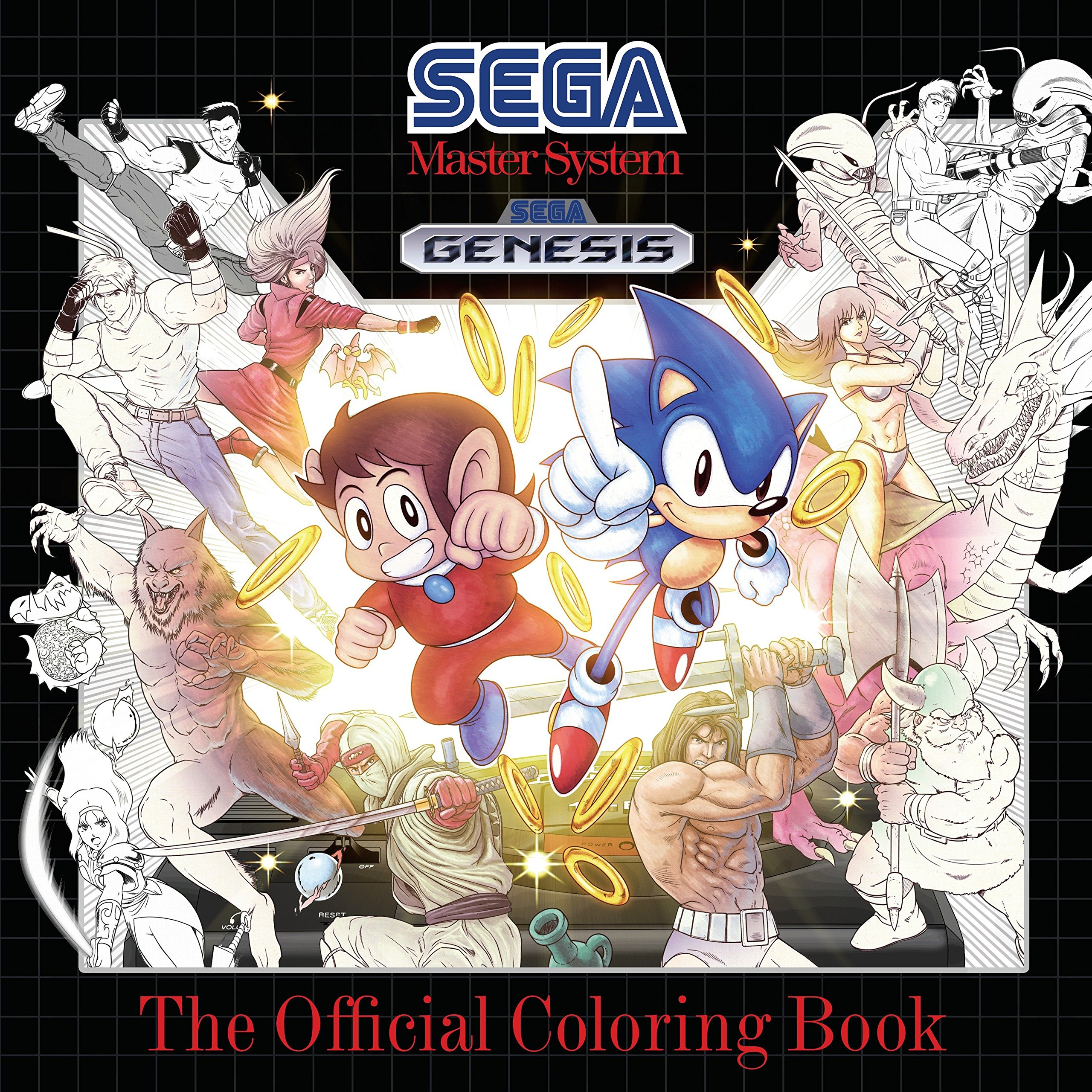 Sega: The Official Coloring Book [Idioma Inglés]: Amazon.es ...
