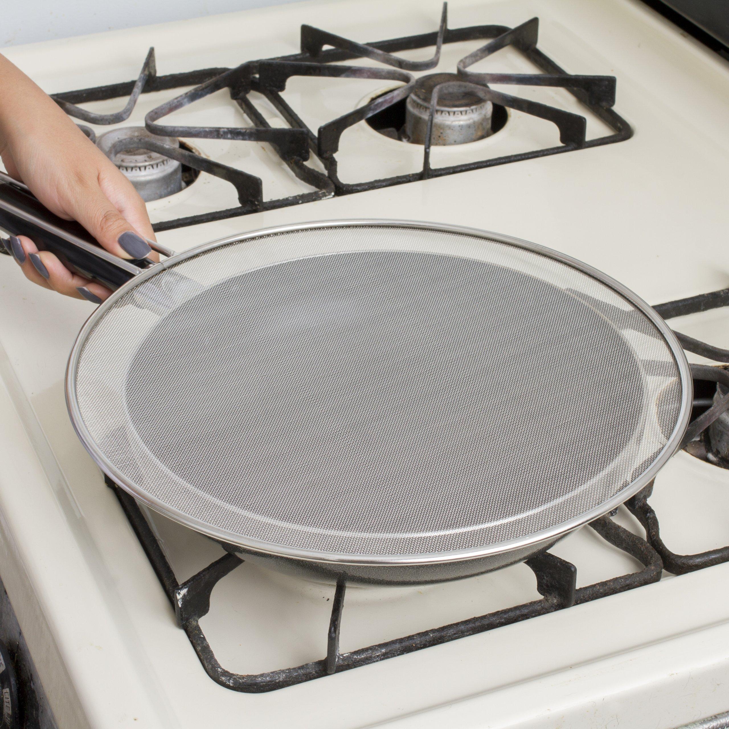Kitchen Basics 3-Piece Stainless Steel Spatter Screens