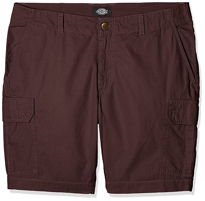 Cb chocolate Brown Pantalones Algodón negro Short York El Amazon Hombre New 46 Cortos W Dickies Para Braun 81zxvqnwR
