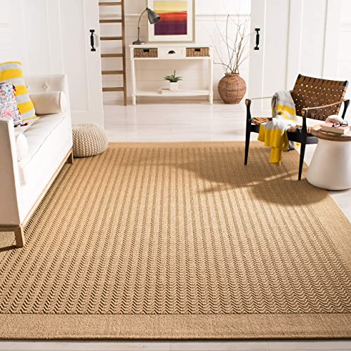 Safavieh Palm Beach Collection PAB321M Maize Sisal Jute Area Rug 8 x 11