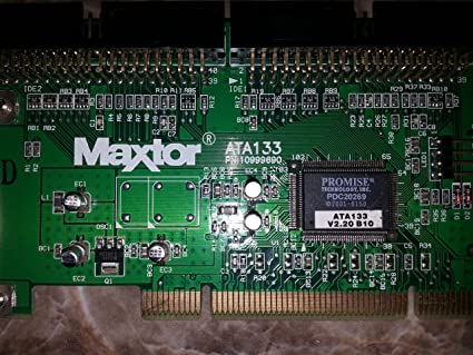 MAXTOR ATA 133 CONTROLLER CARD WINDOWS DRIVER DOWNLOAD