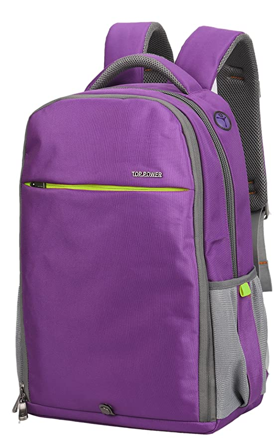 Amazon.com  Top Power 8061 22+20L Convertible Carry-on Travel Backpack with  Laptop Compartment-Purple green  Computers   Accessories cf09a80a3fc02