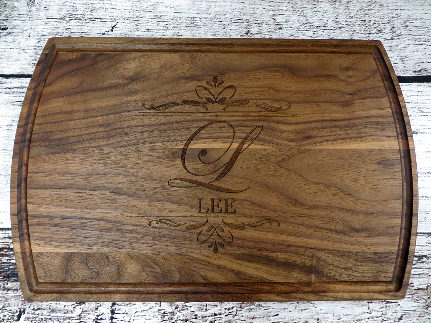 Family Name Personalized Cutting Board