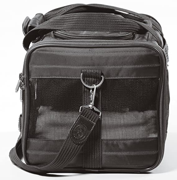 Sherpa Original Deluxe Pet Carrier, Medium, Black: Amazon.es: Productos para mascotas