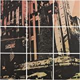 "Amazon Brand – Rivet 9-Piece Radio City Color Tinted Print on Wood, 60"" x 60"""