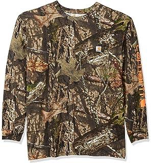 02e314062fb7a Amazon.com: Carhartt Men's Big & Tall Short Sleeve T-Shirt Original ...