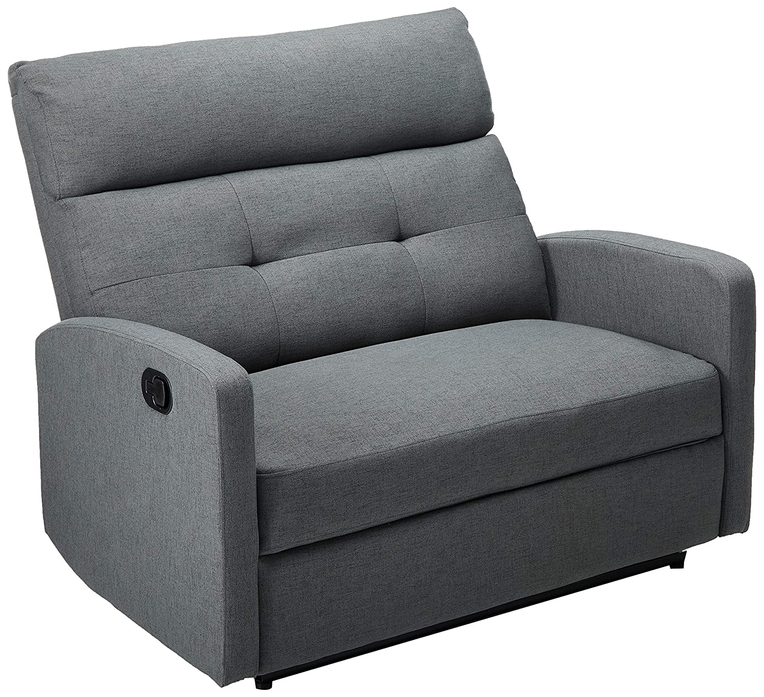 Remarkable Christopher Knight Home Hana Recliner Fabric Charcoal Cjindustries Chair Design For Home Cjindustriesco