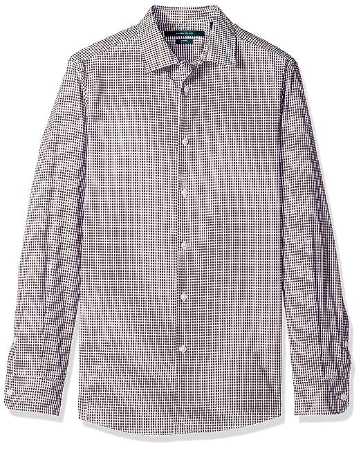 2be8f7b9f3 Perry Ellis - Camisa de Vestir elástica para Hombre  Amazon.com.mx ...
