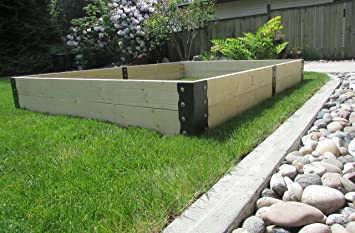 No U0026quot;Nail Sicknessu0026quot; Raised Garden Bed Corners