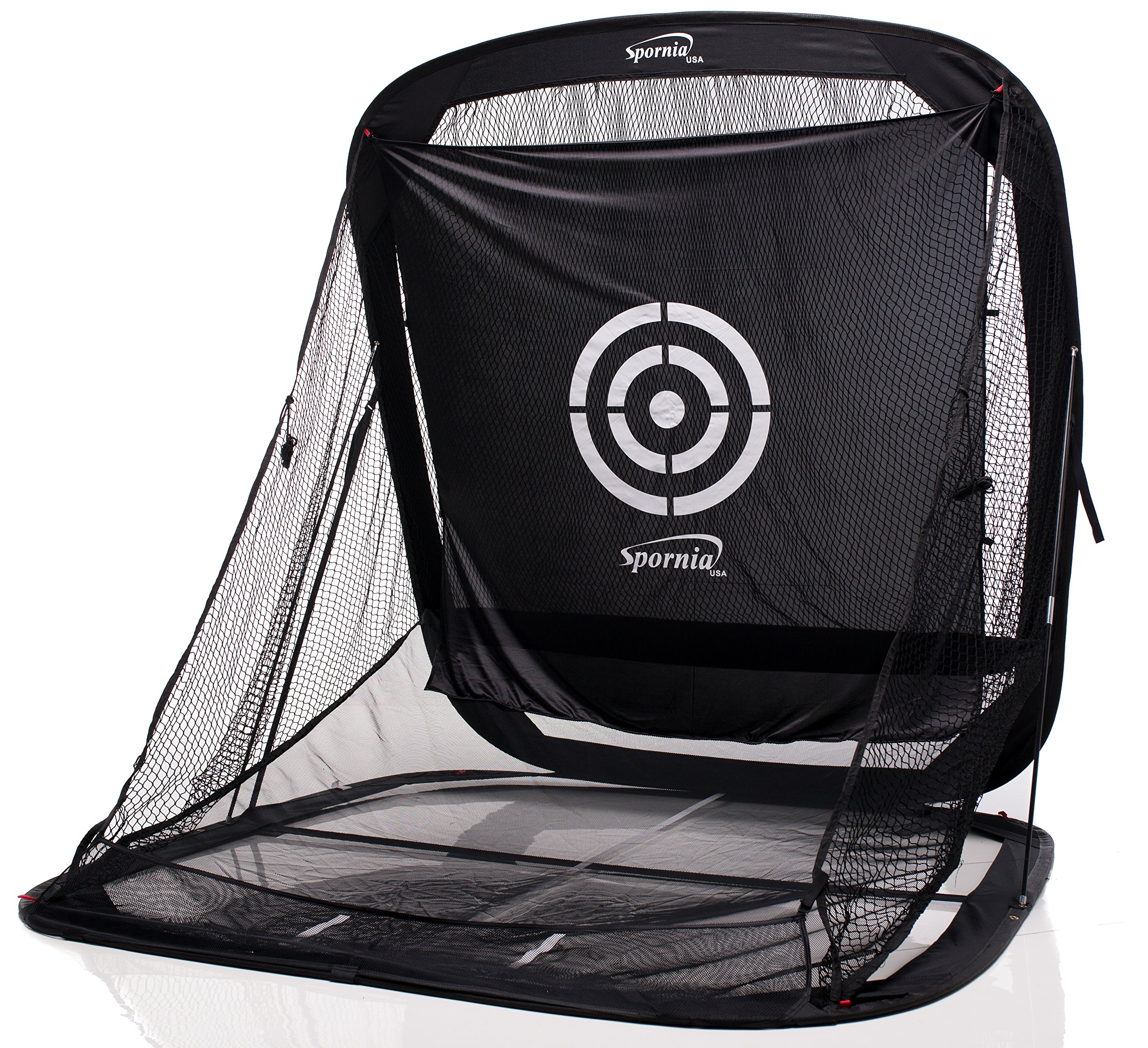 Spornia SPG-5 Golf Practice Net- Automatic Ball Return System with Target sheet, Two Side Barrier, and Chipping Target by Spornia (Image #3)