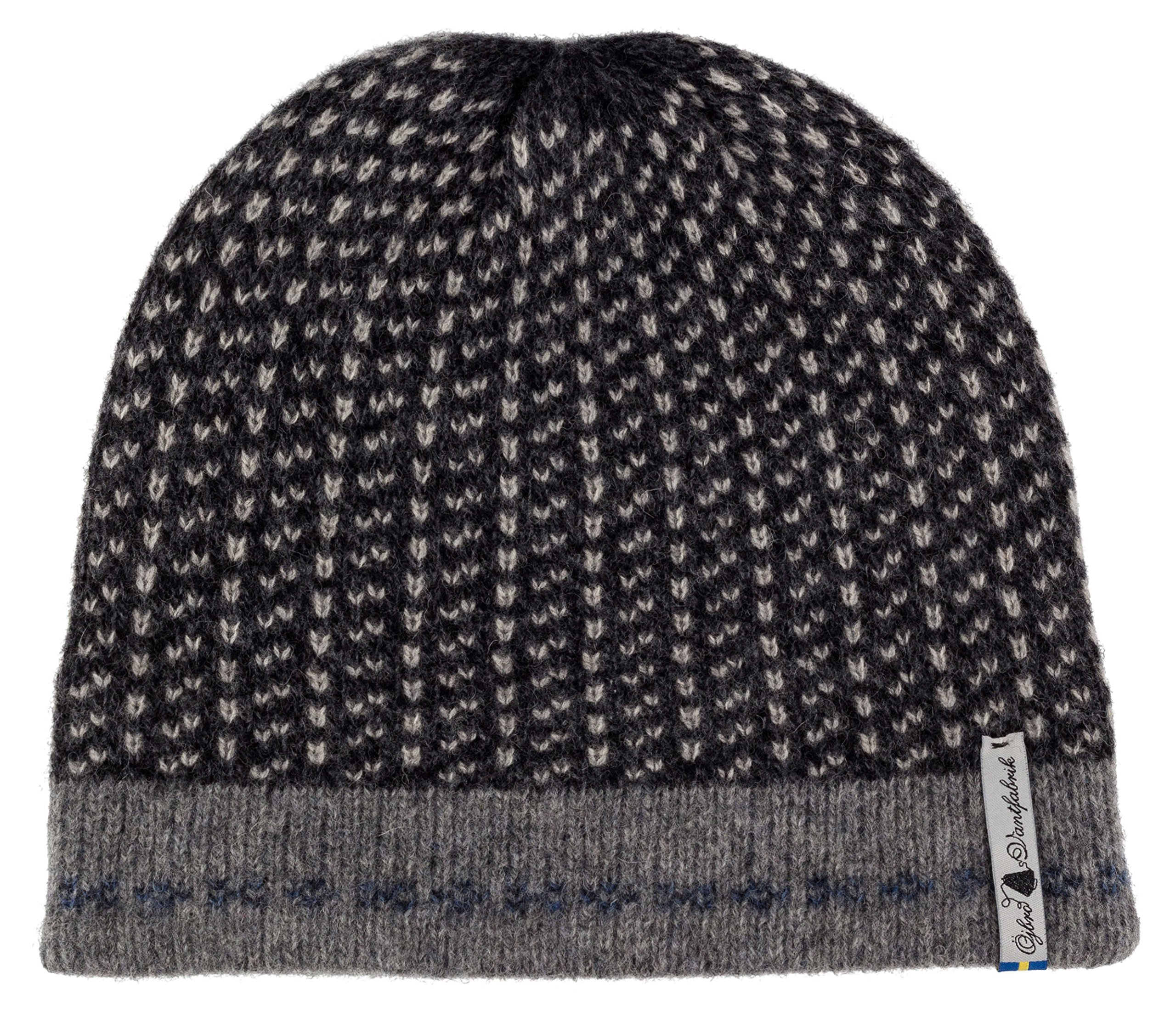 Swedish 100% Merino Wool Warm Soft and Thick Beanie Hat Cap (Skaftö Sot) by ÖJBRO VANTFABRIK (Image #1)