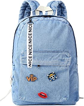 Women Girls School Bag Boys Satchel Backpack Rucksack Shoulder Bookbag Teenagers